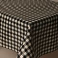 Black Gingham Check 20m Roll